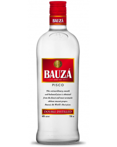 Pisco Bauzá Crystal 40°