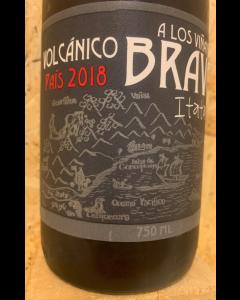 Viñateros Bravos Pais Volcanico 2018