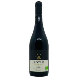 Koyle Single Vineyard Syrah 2017 - Organic